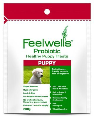 Feelwells Probiotic Puppy Dog Treats