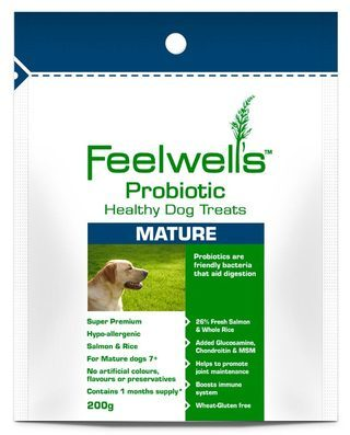 Feelwells Probiotic Mature Dog Treats