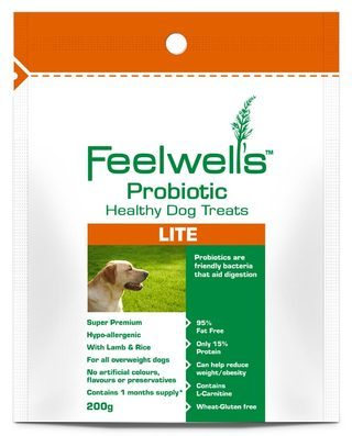 Feelwells Probiotic Lite Dog Treats
