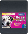 Johnsons 4 Flea Tablets Large Dog 6 Pack