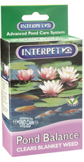 Interpet Pond Balance Clears Blanket Weed and Filamentous String Algae