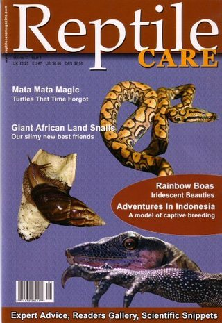 Reptile Care Volume Issue !