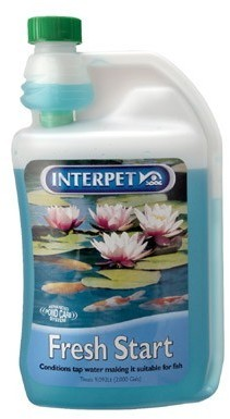 Interpet Fresh Start 500ml Removes Chlorine From Tap Water