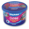 King British Cichlid Floating Food Sticks 100g