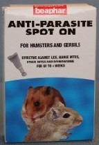 Beaphar Anti Parasite Spot on for Hamsters