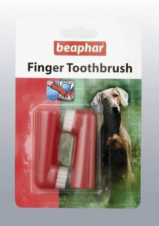 Beaphar Finger Toothbrush 2 Pieces