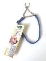 Dog Combi Collar 25mm X 50 to 86cm Blue Canac