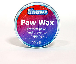 Shaws Paw Wax Provides Grip on Smooth Or Slippery Surfaces