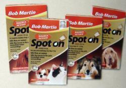 Bob Martin Double Action Spot on For Cats and Dogs Under 11kg