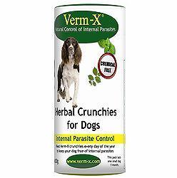 Verm X Dog Treats Natural Worming Dog Treat
