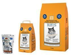 Burns Feline Chicken Brown Rice 2kg