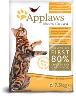Applaws Natural Complete Adult 80% Chicken Cat Food 2 Kg