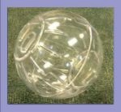 Deluxe Hamster Ball Assorted Colours