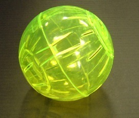 Deluxe Mini Hamster Ball Assorted Colours