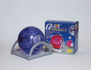 Ppi Galaxy Cyber Ball For Hamsters With Stand Std