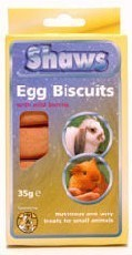 Shaws Egg Biscuits Wild Berries 35g