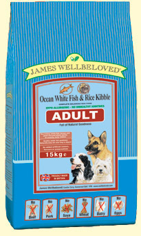 James Wellbeloved Fish and Rice Adult Dog Food 15 Kg