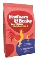 Feathers and Beaky Free Range Layers Pellets 5kg
