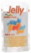 Almo Nature Jelly Cat Adult Chicken Cheese Pouch 70g Box of 24