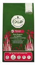 Excel Rabbit Mature With Cranberry Ginseng 2kg Burgess Pet Care