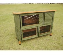 Double Rabbit Hutch Cover Standard