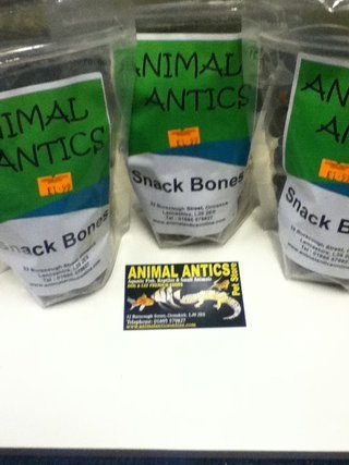 Animal Antics Snack Bones Prebiotic Dog Treats