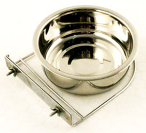 Stainless Steel Coop Cup With Clamp 12.5cm