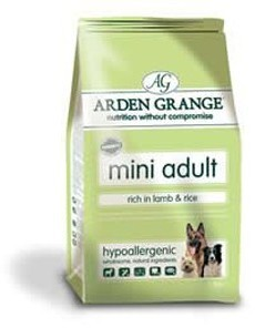 Arden Grange Mini Adult Lamb and Rice Dog Food 6Kg