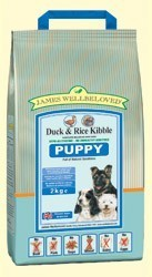 James Wellbeloved Duck and Rice Puppy Food 2 Kg