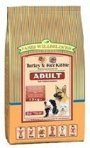 James Wellbeloved Turkey and Rice Adult Dog Food 15kg