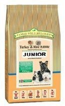 James Wellbeloved Turkey and Rice Junior Dog Food 15kg