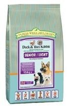 James Wellbeloved Duck & Rice Senior Light Dog Food 15 Kg