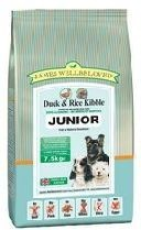 James Wellbeloved Duck and Rice Junior Dog Food 15 Kg