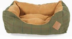 Danish Design Snuggle Dog Bed Hunter Tweed 86cm