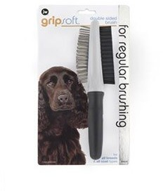 Jw Gripsoft Double Sided Dog Brush