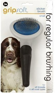 Jw Gripsoft Slicker Dog Brush Small