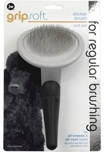 Jw Gripsoft Slicker Soft Pin Dog Brush