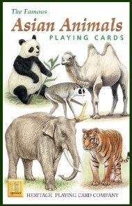 Heritage Asian Animals Playing Cards
