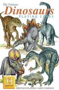 Heritage Dinosaurs Playing Cards