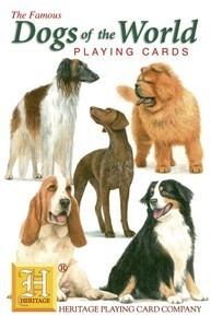 Heritage Dogs of The World Playing Cards
