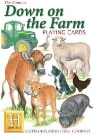 Heritage Down on The Farm Playing Cards