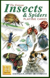 Heritage Insects and Spiders Playing Cards