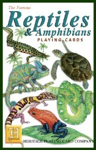 Heritage Reptiles and Amphibians Playing Cards