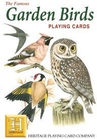 Heritage Garden Birds Playing Cards