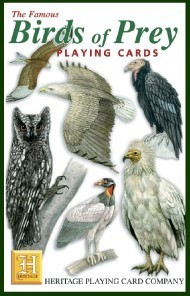 Heritage Birds of Prey Playing Cards