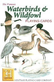 Heritage Water Birds Playing Cards
