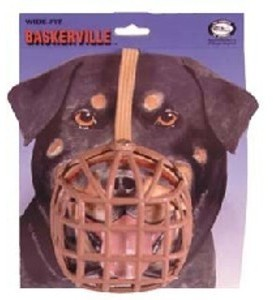 Baskerville Dog Muzzle Size 13