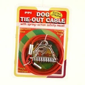 Dog Tie Out Cable 6m 20ft