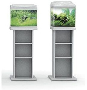 Superfish Aqua 40 Aquarium Fish Tank Stand Silver