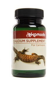 Komodo Calcium With Vitamins For Carnivores 135g